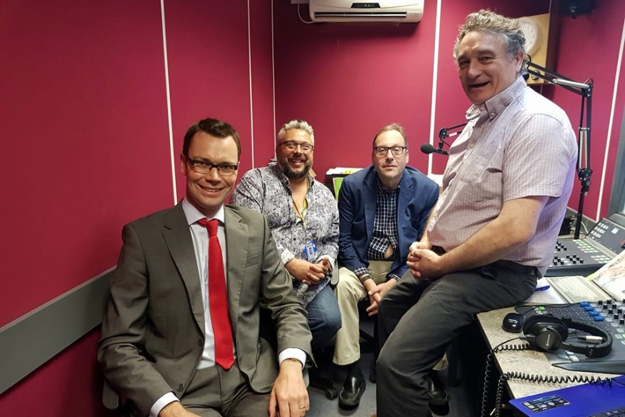 West Herts MP Candidates Featured on Pulse Hospital Radio Breakfast Show